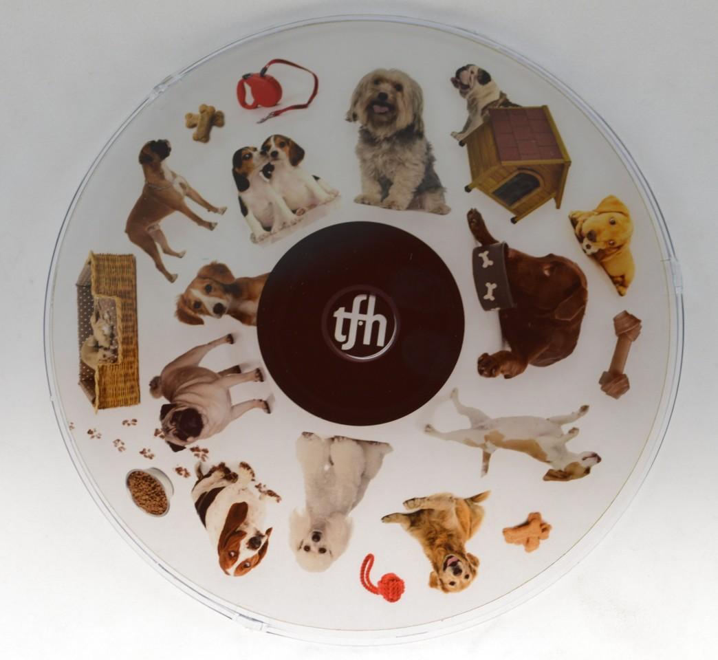 6 Inch Projector Wheel - Dogs Scene