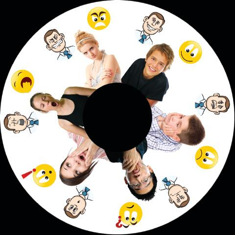 6 Inch Projector Wheel - Emotions Scene