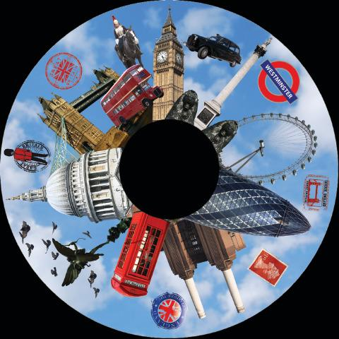 Magnetic Wheel, London Famous Landmarks