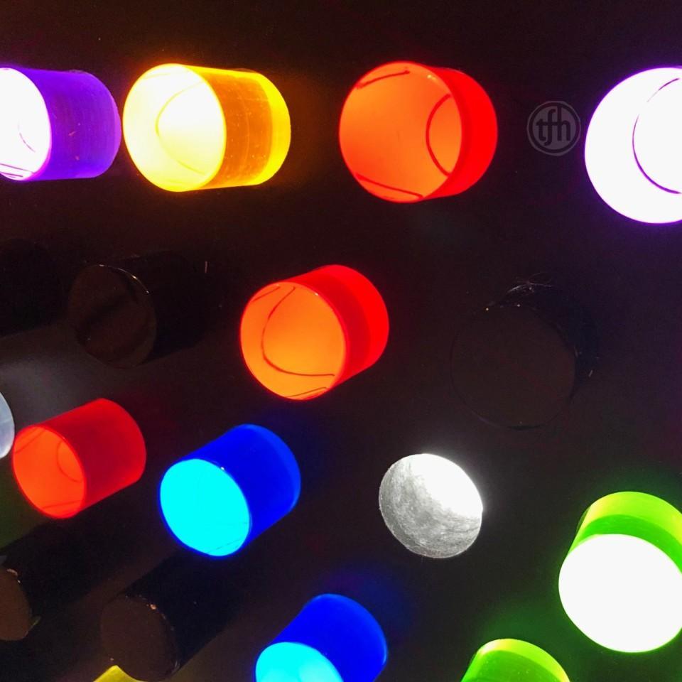 Rod Wall Light Panel