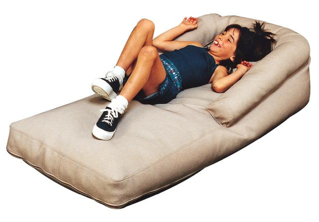 Long Cushion Seat With Resonating Speaker