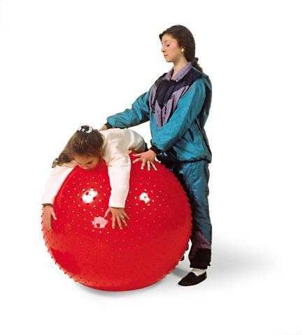 Large Red Physio Sensory Ball