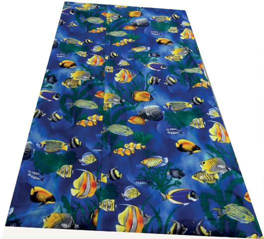 Sealife Vinyl Weighted Blanket