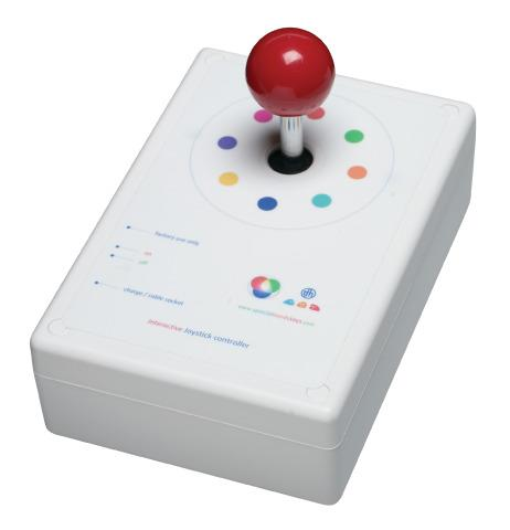 Wireless Joystick Controller for Sensory Rooms