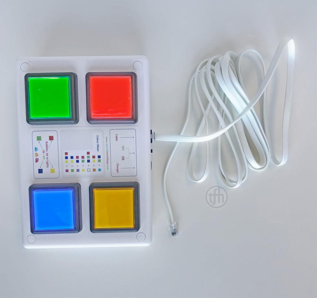 Colour Control Button box, Wire & Wireless