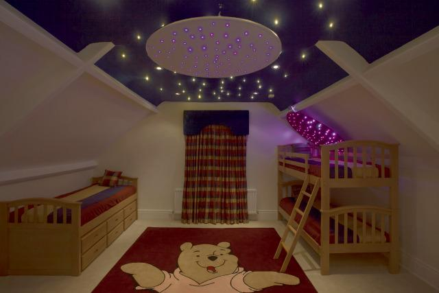 Star Ceiling Ring - Illuminated Sensory Toy