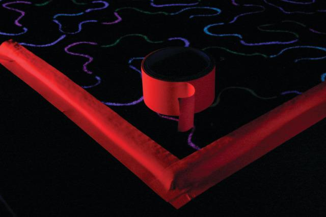 UV Floor Tape Red