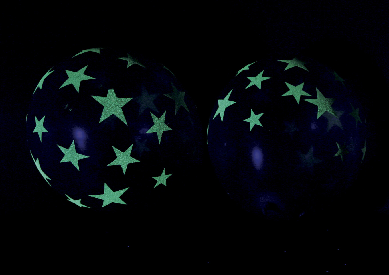 UV Star Balloons