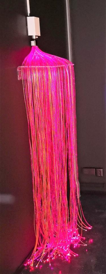 Väggfäste till Fiberoptiktrådar B:55cm