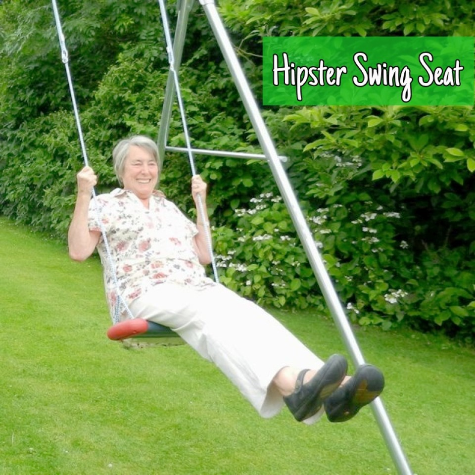 Swing, Wide Hipster Seat