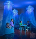 AquaGlow Jellyfish Light-Up Sensory Den