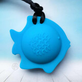 Fish Chewy - colour Water Blue, by ChuBuddy