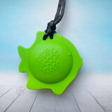 Fish Chewy - colour Sea Green, by ChuBuddy