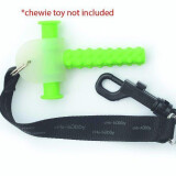Chubuddy Chewy Tether and Strap Black