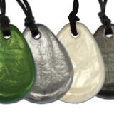 Adult Chew Necklace, Raindrop Pendant