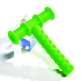 Chew Tube Green, Light/Moderate