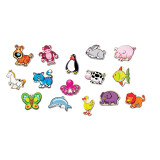 Wooden Animal Magnets - LIMITED SUPPLY