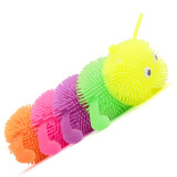 Flashing Squeezy Caterpillar