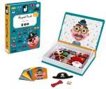 Boy's Crazy Face Magnetic Set
