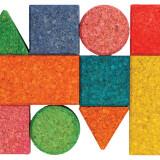 Cork Building Blocks Colourful