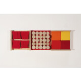 Red Tactile Wall Panel