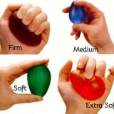 Resistive Eggsercizer Hand Strengthener Set