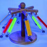 Fluorescent Spinning Bells