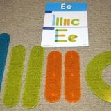 Light Table, Letter Construction Set