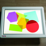 Light Table, Rainbow Shapes Large
