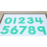 Silishapes® Dot Numbers - See Through Learning Numbers