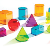 See Through Geometric Solids