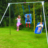 Mighty Swing Frames - Three Swings Wide