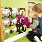 Convex Mirror 9 bubbles
