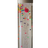 """Water Tubes, Balls in Bubble Tube Insert, 48"""" tall"""