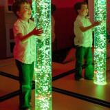 "Water Bubble Column, Calming Aquarium :- Size: 70"" tall"