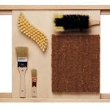 Bristle Brushes Sensory Wall  Panel - Drop Ship Item
