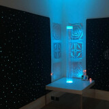 Fiber Optic Carpet:- Size: 6' x 6'