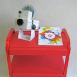 Little Red Portable Sensory Cart - Basic