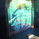 """Projection Accessory, 72"""" Curtain"""