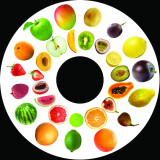 Magnetic Wheel, Fruits and Berries
