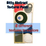 Abstract Textures Tactile Panel - Bitty