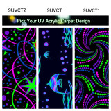 UV Carpet 6' x 6'