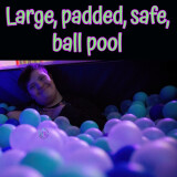 Ball Pool Wall-Mounted Sides (Price per cm)