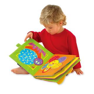 Giant Soft Fabric Book - 25cm Square - Machine Washable