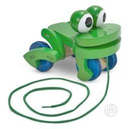 Frolicking Frog