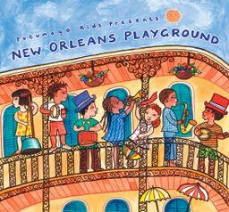 Music CD, New Orleans Playground