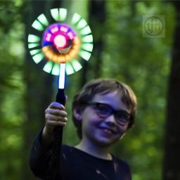 Giant Light-Up LED Spinning Wand
