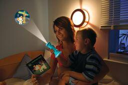 Flashlight Image Projectors - Waldi the guard dog