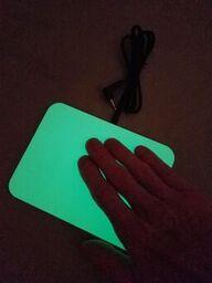 Glow in the Dark Pal Pad