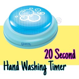 Hand Washing Timer Button